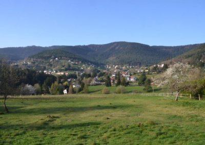 Wangenbourg, le Schneeberg
