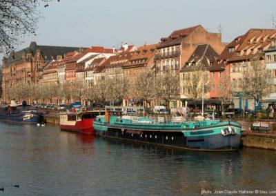 Strasbourg Les quais de l'Ill