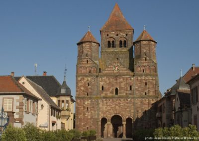 Marmoutier, Abbatiale